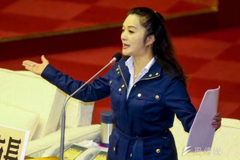 台北市議員應曉薇召開記者會,強調長大才喊「#MeToo」根本來不及,呼籲教育局等相關單位應做好把關。(資料照,陳明仁攝)