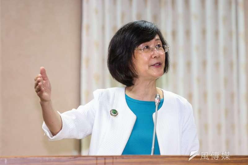 前法務部長羅瑩雪抗癌多年,於2021年4月3日過世。(顏麟宇攝)
