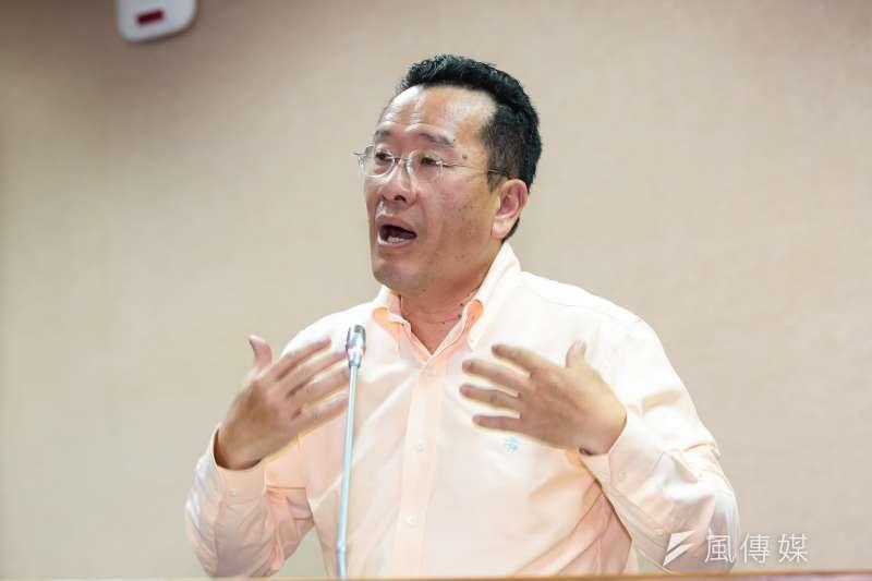 民進黨立委顧立雄即將接任不當黨產委員會主委。(資料照片,顏麟宇攝)