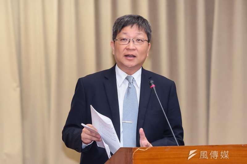 經濟部工業局副局長游振偉說,智慧機械投資抵減預計從明年1月1日起實施,至110年底落日。(資料照,顏麟宇攝)