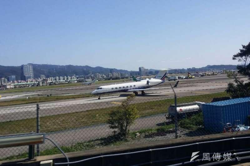 松山機場。(風傳媒)