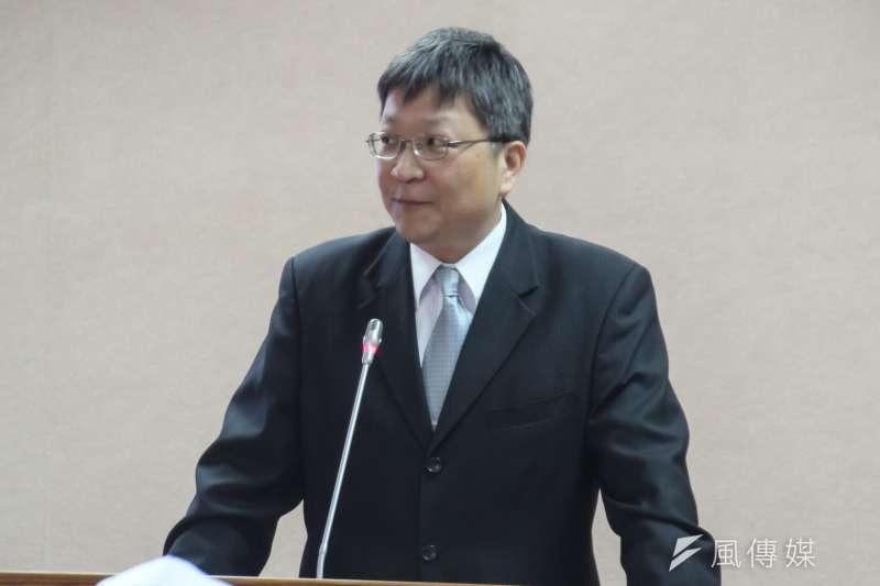 經濟部工業局副局長游振偉可望升任能源局長。(資料照片,王德為攝)