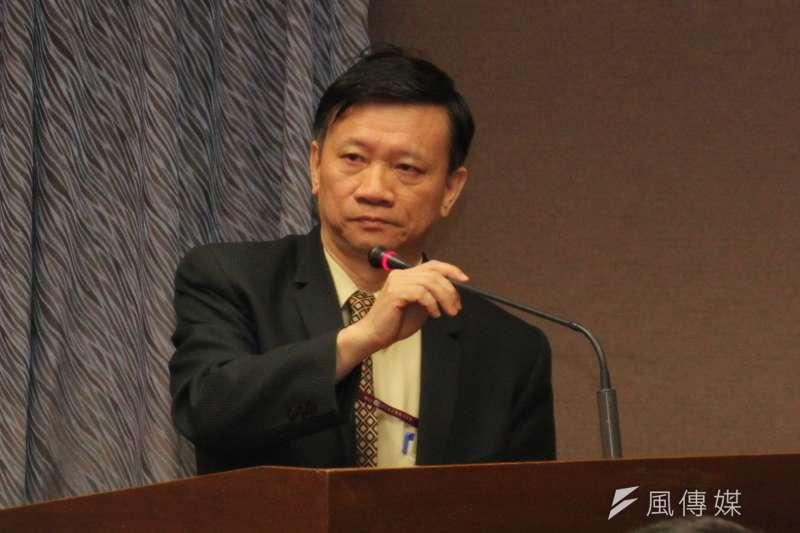 NCC基礎設施事務處處長羅金賢16日於委員會備詢。(王德為攝)