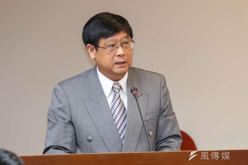 環保署副署長張子敬25日至立院衛環委員會備詢。(顏麟宇攝)