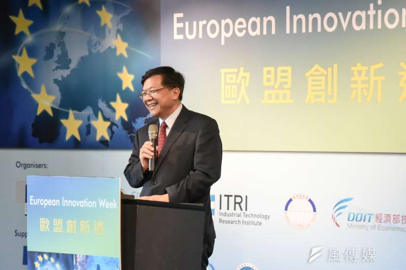 李世光大概是談永續與環保最多的經濟部長。(林惟崧攝)
