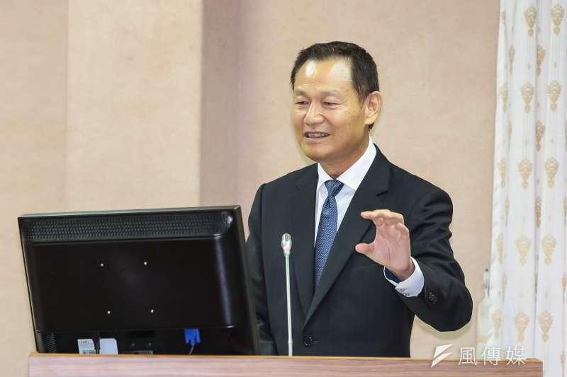 退輔會主委李翔宙今(1)日在立法院表示,將以「大立大破」的方式,在3個月內把完整構想提出。(顏麟宇攝)
