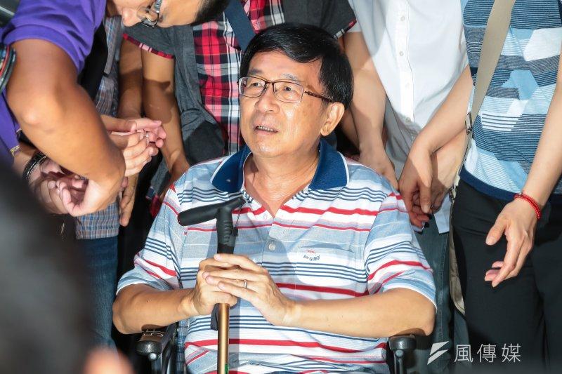 台日藝術家呼籲520後特赦陳水扁,總統府發言人林鶴明強調,總統蔡英文在上台前就曾表態過,最大的原則是不讓人民在此爭議上繼續對立。(資料照,顏麟宇攝)