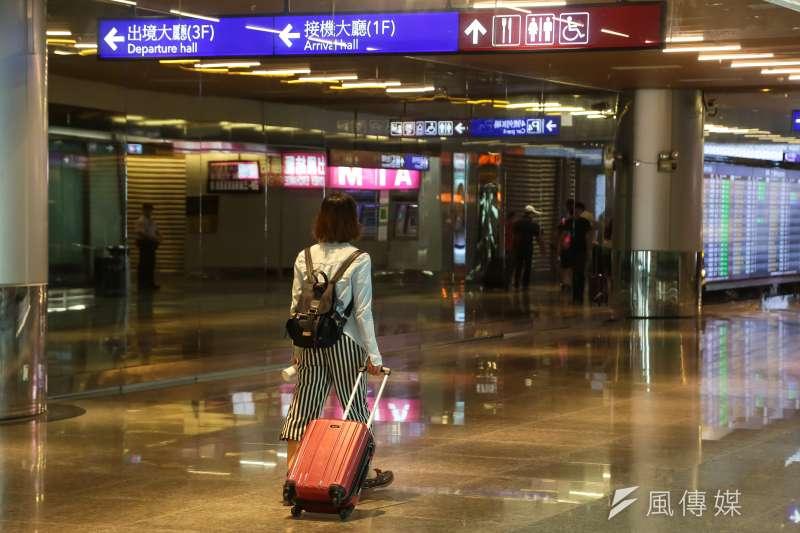 桃園機場第二航廈。(資料照,顏麟宇攝)