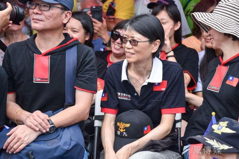 台北市議員陳重文日前在臉書點名,可由前總統夫人周美青出戰台北市長選舉。圖為周美青。(資料照,陳明仁攝)