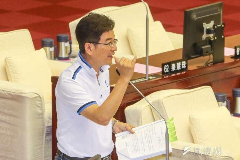 20160613-台北市政總質詢.市議員.李慶元.(陳明仁攝)