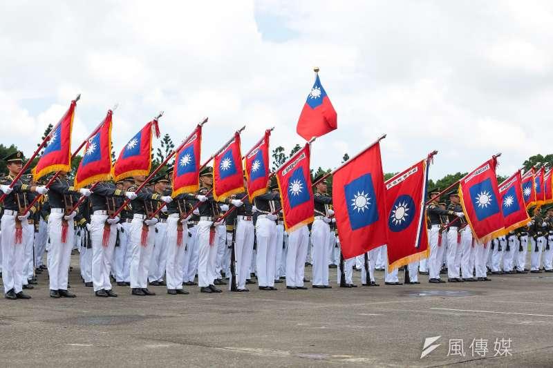 陸軍官校16日舉行92週年校慶典禮。(顏麟宇攝)