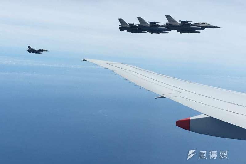 總統蔡英文的出訪專機,從邁阿密起飛後,是直穿過和中國非常友好的古巴領空,是我國元首專機首次穿越古巴領空。(資料照,顏振凱攝)