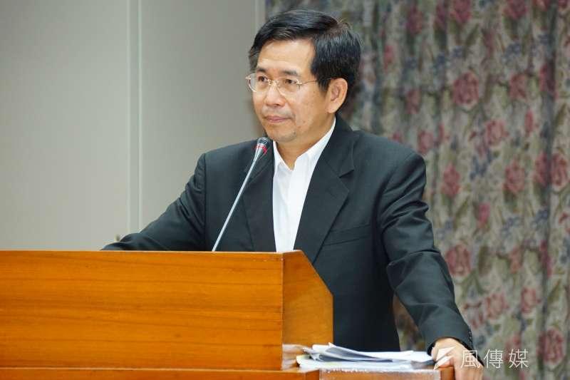 人本教育基金會19日公布校園體罰調查,顯示台灣仍有3成左右的學生遭到體罰。教育部長潘文忠對此在部務會報表示,「體罰終究是最野蠻的行為」。(資料照,盧逸峰攝)