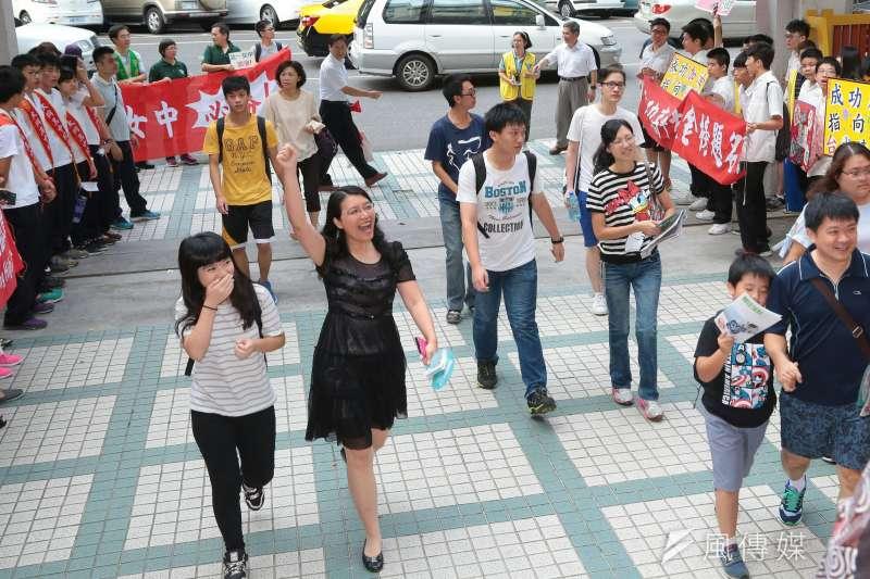 107學年大學考試入學分發於今日上午放榜。(資料照片,顏麟宇攝)