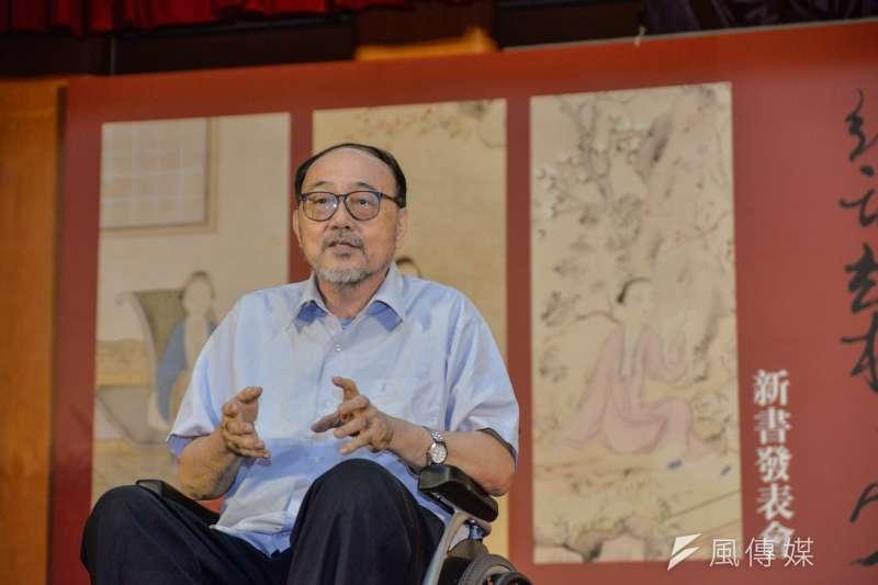 台大中文系教授柯慶明今(1)日辭世,享壽73歲。(資料照,甘岱民攝)