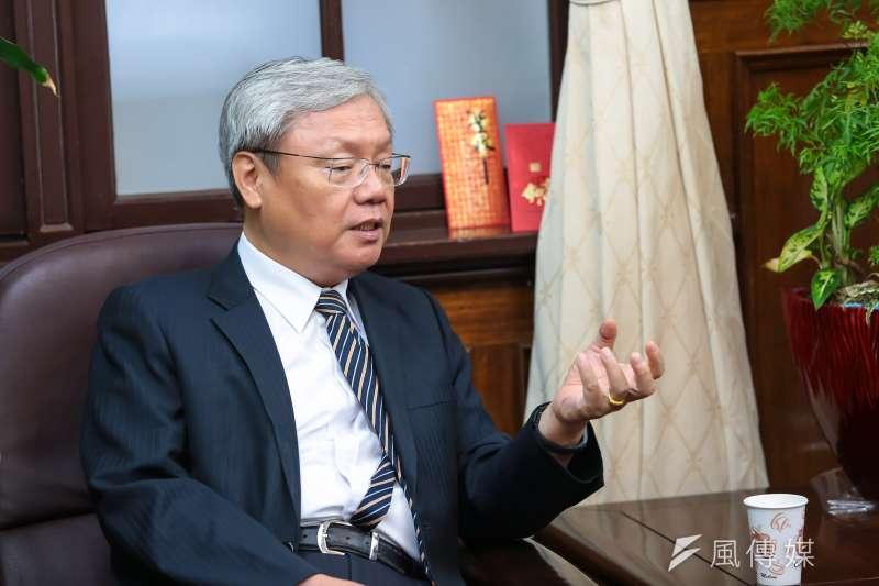 司法院副院長蘇永欽認為人民不信任司法是慢性病,司法改革不是特效藥。。(顏麟宇攝)