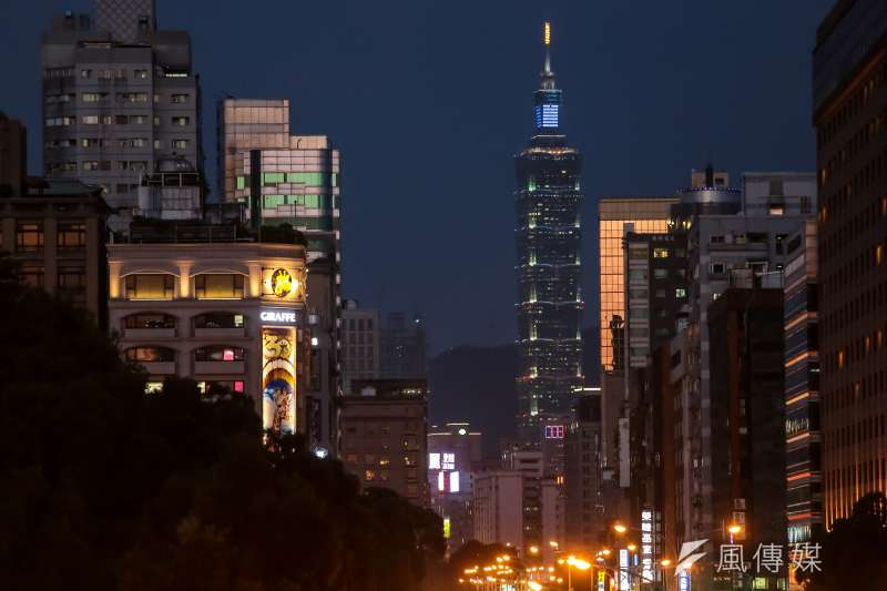 台北在全球城市安全指數排行中列居第22,而在「個人安全」此一指標的排名中,台北更躍居第6。(資料照,顏麟宇攝)