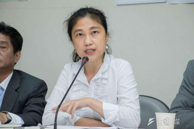 立委及民進黨發言人Kolas Yotaka反駁國民黨批評。(資料照片,李振均攝)