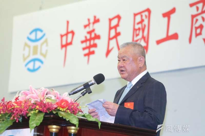 中華民國工商協進會理事長林伯豐。(資料照片,陳明仁攝)