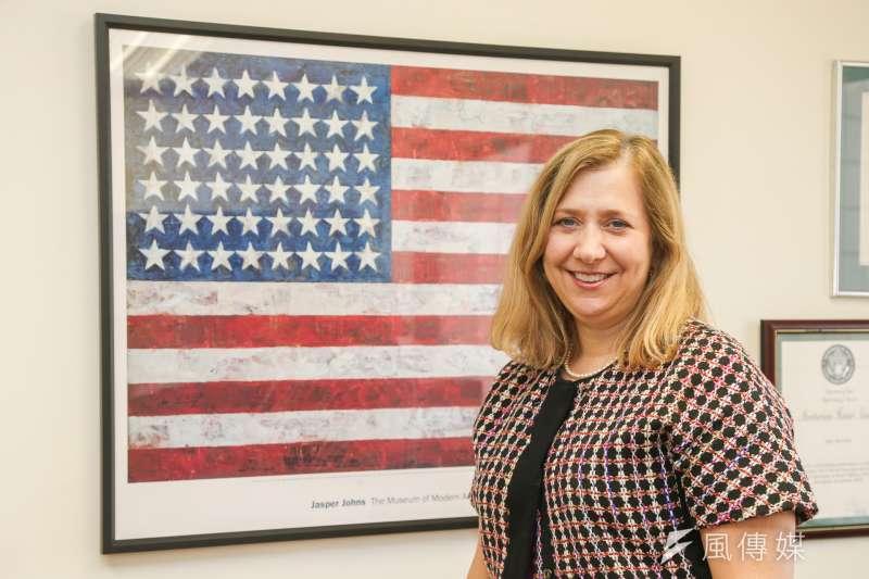 20160728-AIT專訪.美國國務院監督及打擊人口販運辦公室.無任所大使柯佩吉(Susan Coppedge).(陳明仁攝)