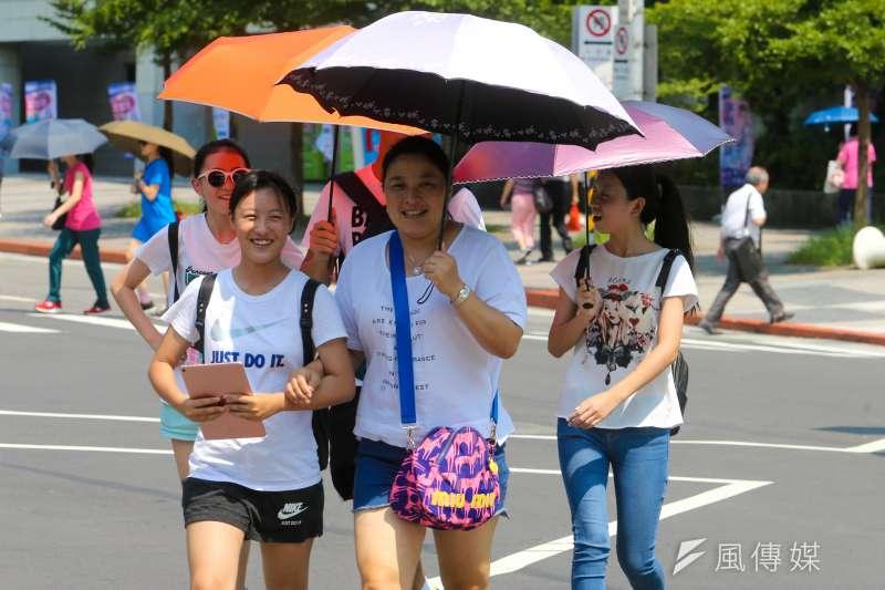 陸客是台灣觀光業支柱之一(陳明仁攝)