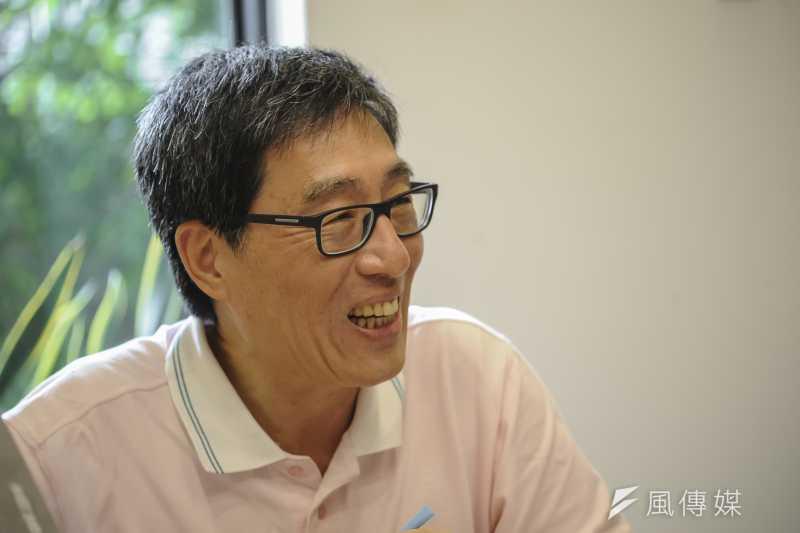 香港城市大學由校長郭位領銜,到建國中學等學校招生宣傳。(資料照,甘岱民攝)