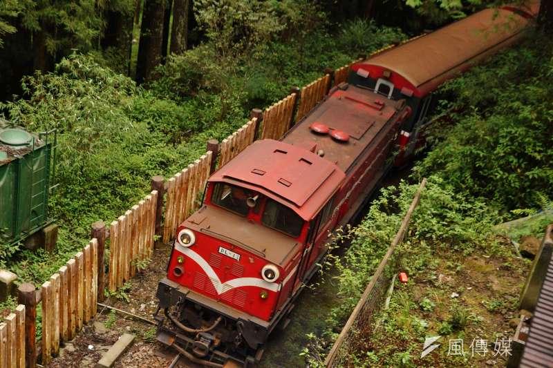 阿里山的姑娘美如水,阿里山的森林鐵路列車還有多大吸引力?(盧逸峰攝)