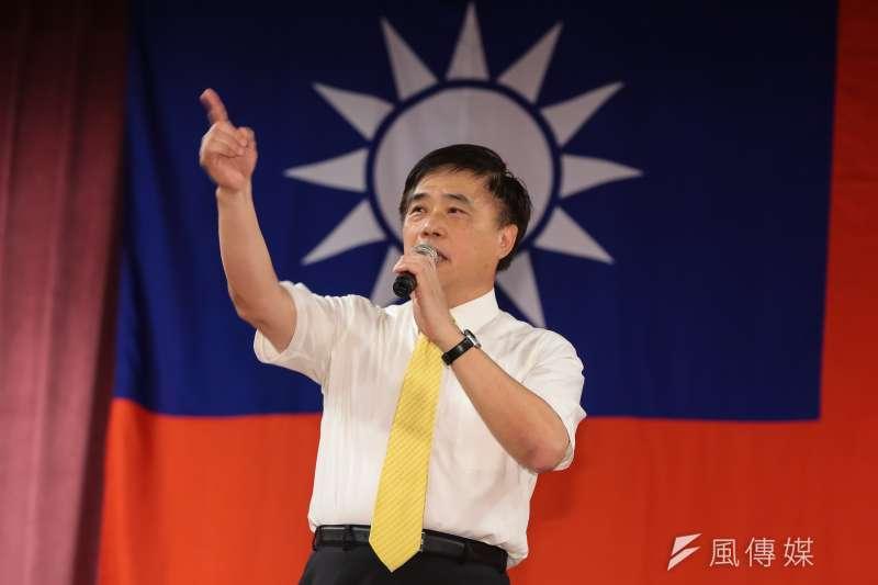國民黨副主席郝龍斌今(15)日在臉書上發文,批評蔡英文政府擬開放日本核災區農產品,是民進黨非核家園又1次的「有夢最美、失望相隨」。(資料照,顏麟宇攝)