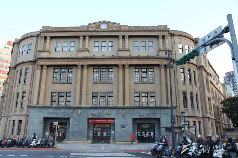 台北郵局將仿造「JP Tower」,於三級古蹟北門郵局後方空地興建「CHP Tower」。(資料照,取自交通部網站)