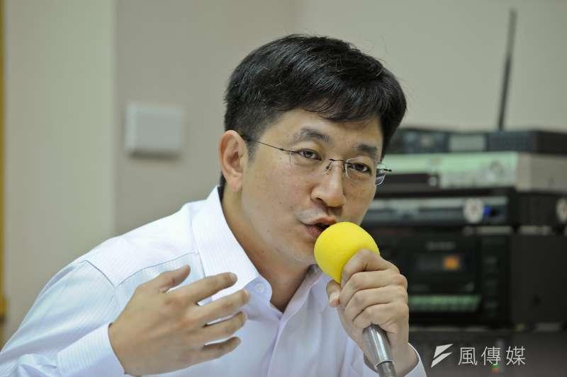 綠委蔡適應上午接受廣播專訪,並表示,軍人年改應該要讓募兵制能成功。(資料照,甘岱民攝)