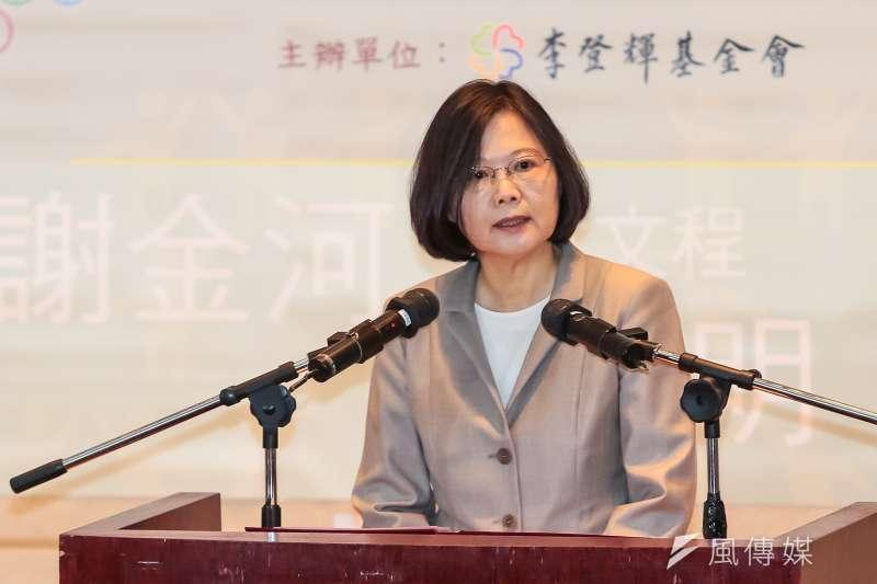 總統蔡英文就任已過百日,台灣民意基金會民調顯示,蔡英文的蜜月期已過。(資料照片,顏麟宇攝)