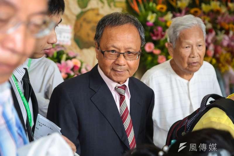 前教育部長部杜正勝曾於他任內質疑髮禁的合理性。(顏麟宇攝)