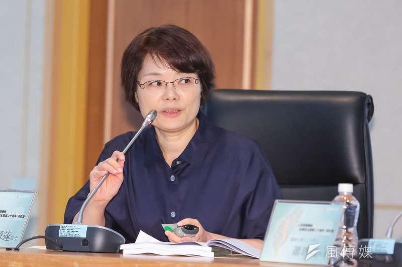 台大歷史系教授陳翠蓮7日發表專題演講,指出中國藉由舊勢力控制媒體與網路,滲透洗腦台灣。(資料照,顏麟宇攝)