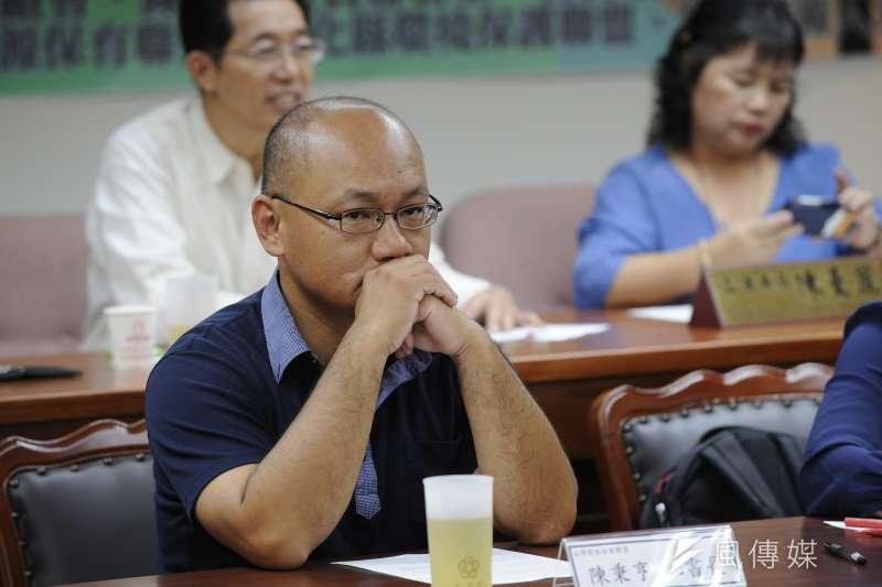 台灣環保聯盟秘書長陳秉亨
