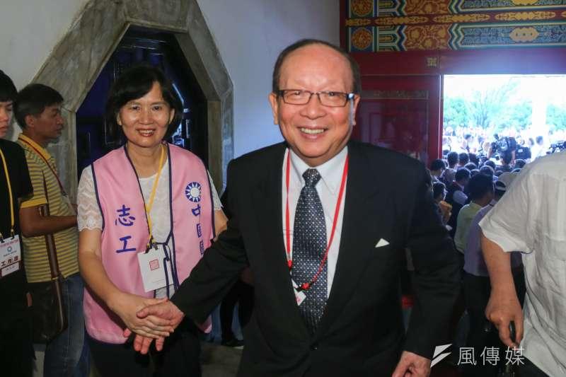 20160904-中國國民黨第19次全國代表大會.章孝嚴(陳明仁攝)