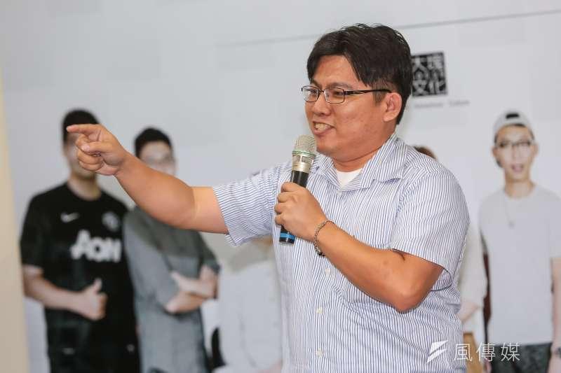 阿哲被判刑的事件,讓邱顯智律師看見台灣司法的荒謬。(顏麟宇攝)