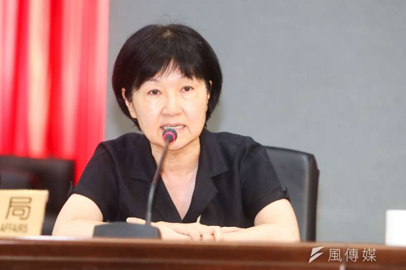 台北市法務局長楊芳玲因「不能認同長官的理念」而請辭。(資料照,陳明仁攝)