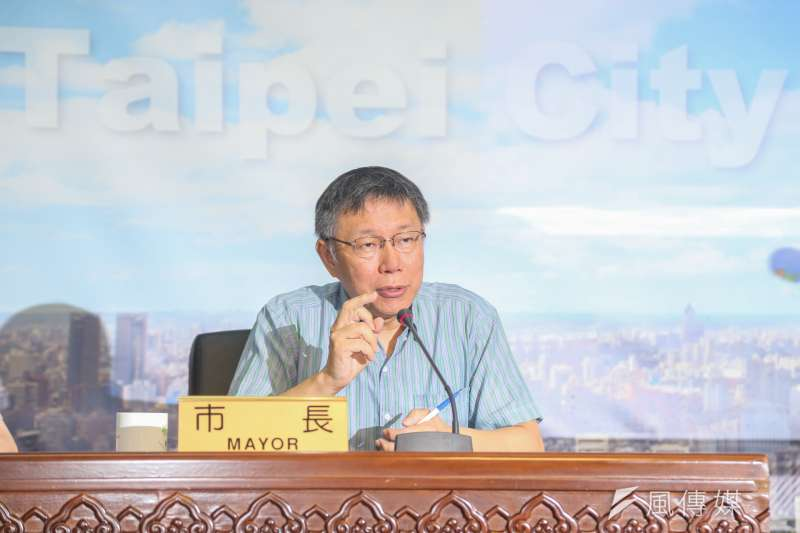 解讀官方民調發現,「小燈泡事件」讓台北市長柯文哲民調「斷崖式暴跌」至最低點40%,至今再沒攀高。(資料照,陳明仁攝)