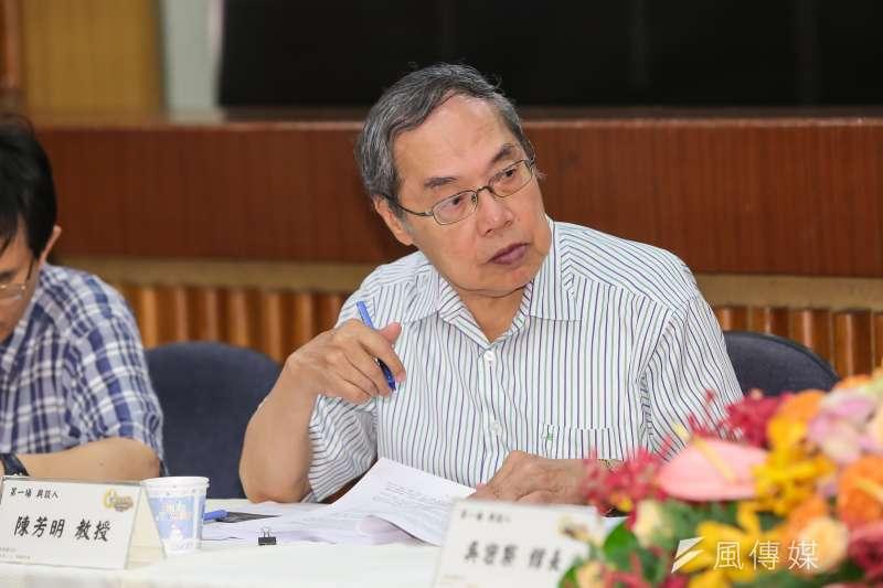 政大台文所教授陳芳明(見圖)直指中國禁人民來台自由行,其實是打臉高雄市長韓國瑜。(資料照,顏麟宇攝)