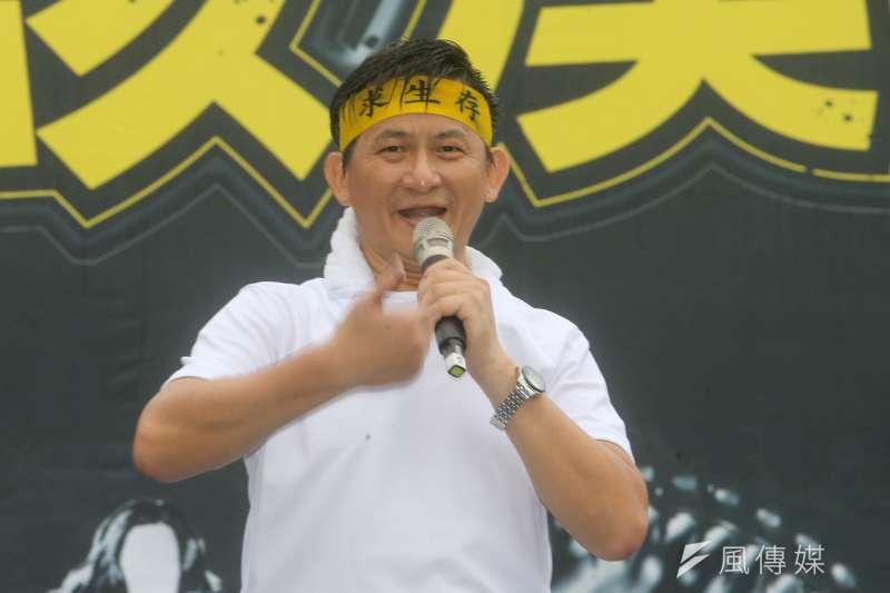旅行公會全聯會理事長蕭博仁(見圖)與全國各縣市旅行公會今(9)日發表聲明「挺部長」,感謝政府團隊對於旅行業的幫忙。(資料照,陳明仁攝)