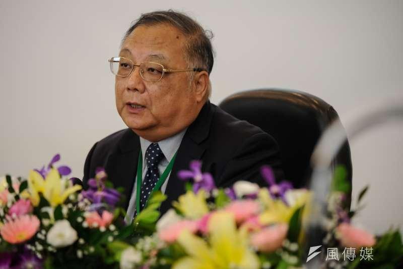 台經40智庫高峰會,工研院特別助理杜紫宸出席。(甘岱民攝)