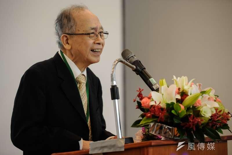 中華經濟研究院11日證實,董事長胡勝正10日傍晚病逝台大醫院,享壽78歲。(資料照,甘岱民攝)