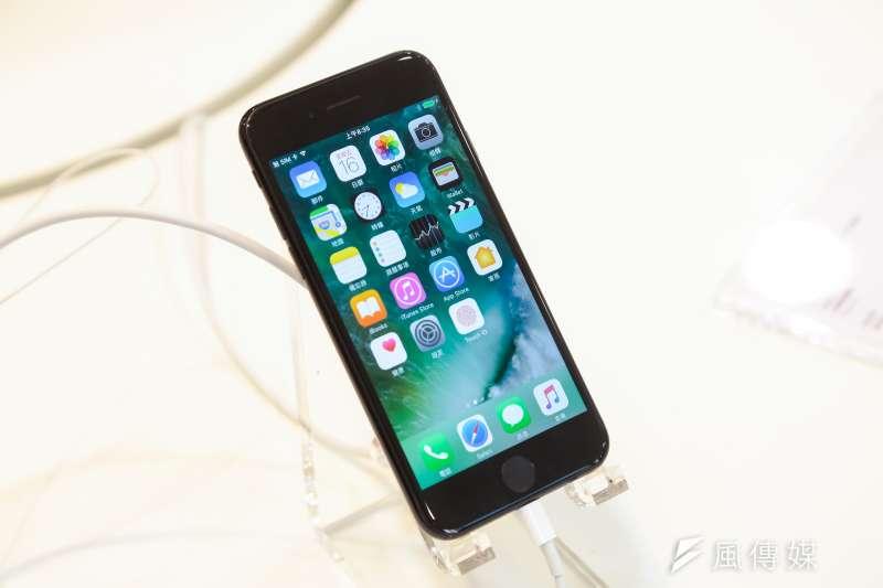 20160916-蘋果專賣店STUDIO A 16日開賣iPhone 7。(顏麟宇攝)