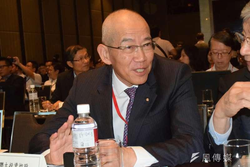 大聯大投資控股董事長黃偉祥遭文曄科技告發涉及《證券交易法》、《銀行法》等多項罪名。(陳伯聖攝)