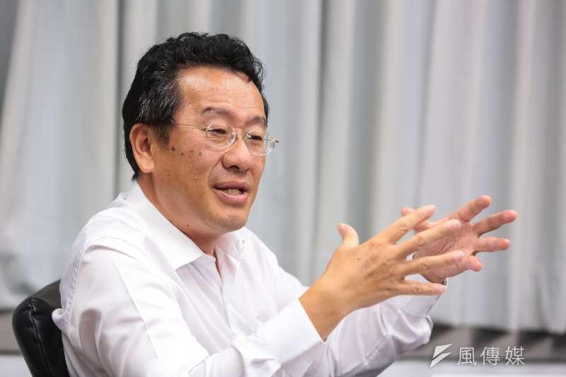 20160921-不當黨產處理委員會主委顧立雄專訪。(顏麟宇攝)