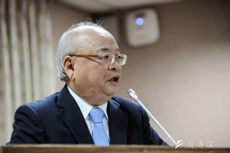 檢察總長顏大和21日赴立院司法法制委員會。(甘岱民攝)