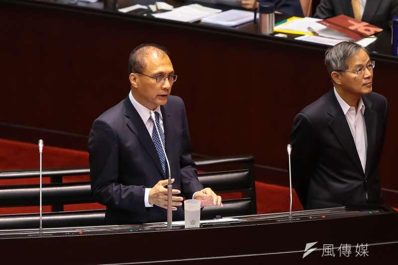 20160923-行政院長林全23日於立院備詢。(顏麟宇攝)