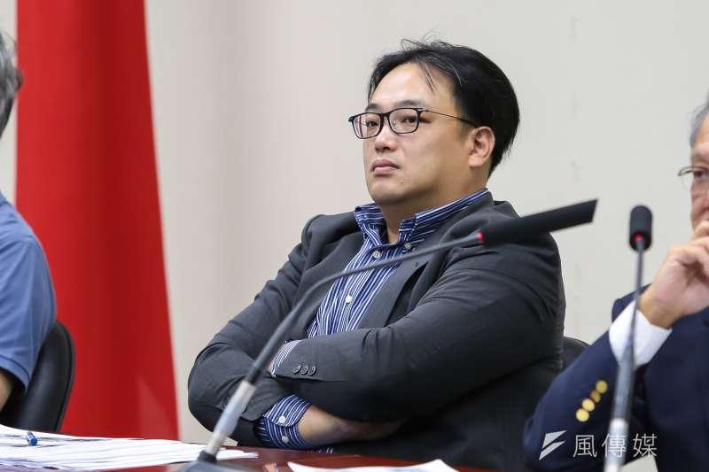 國民黨文傳會副主委毛嘉慶評估投入新北汐止區選舉。(資料照片,顏麟宇攝)