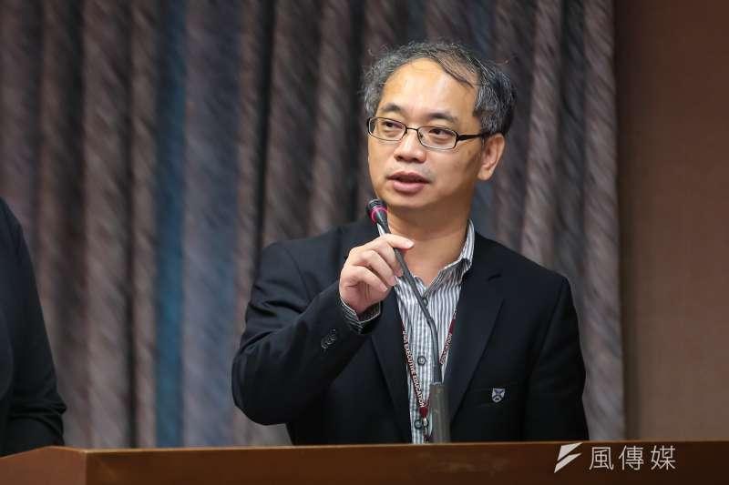 20160929-經濟部投資審議委員會執行秘書張銘斌29日於交通委員會備詢。(顏麟宇攝)