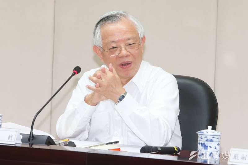 中央銀行總裁彭淮南被「全球金融雜誌」第十四度評為A級央行總裁。(陳明仁攝)